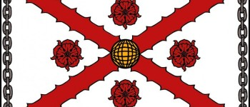 "Flag depicting International Clan MacFarlane Society Arms. 3'X5' made of sturdy outdoor material printed with UV Ink. Perfect for display on Clan Tents and other Society Functions. From the Court of the Lord Lyon: ""The coat of arms fills the banner right to its edges, as though it were a rectangular shield. It is quite wrong to use a banner of a plain colour with the owner's arms on a shield in the middle. This would mean that the owner's arms were ...of that colour with a lithe inescutcheon In the centre. Nor should the external ""additaments"" be shown, i.e., helmet, mantling, crest, motto and supporters. Its purpose is the location and identification of its owner, and it Is the visual equivalent of his name. The extent of its usage depends upon the corporate body, whether it is only flown over the headquarters building or at all the company's or corporation's sites. Its use as a car bonnet flag is restricted to the head of the corporate body and when he is acting as such"""