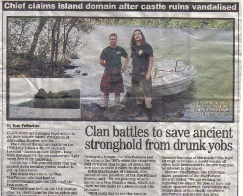 Eilean I Vow Archives International Clan Macfarlane Society