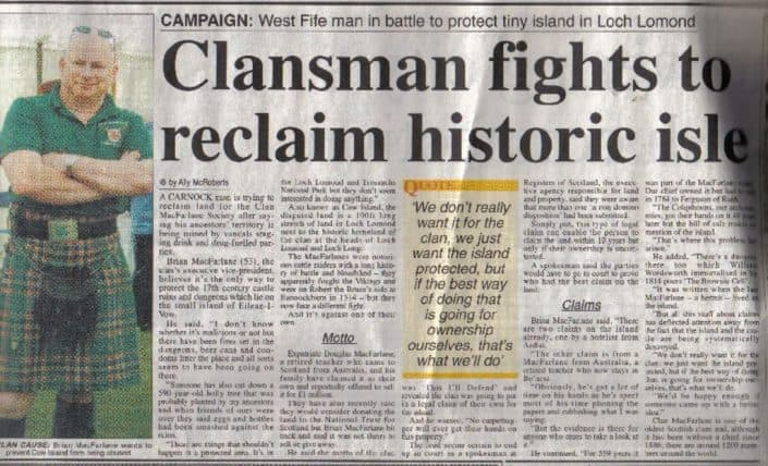 thumbnail of Press_ClansmanFightsToReclaimHistoricIsle_2006Dunfermline