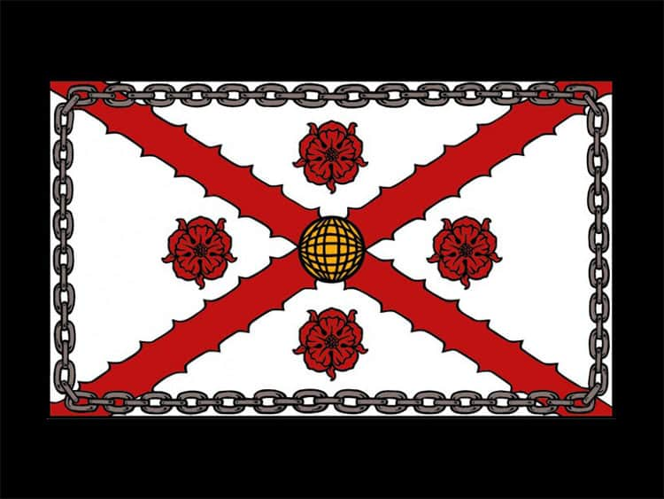 MacFarlane Heralidic Flag ©royal-publishing.com