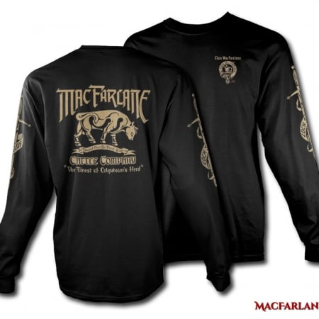 MacFarlane Cattle Company Tshirt - Men's Long Sleeve - art by Maxine Miller - ©celticjackalope.comMacFarlane Cattle Company Tshirt - Men's Long Sleeve - art by Maxine Miller - ©celticjackalope.com