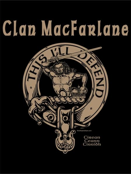 MacFarlane Cattle Company Tshirt - Men's Long Sleeve - art by Maxine Miller - ©celticjackalope.com