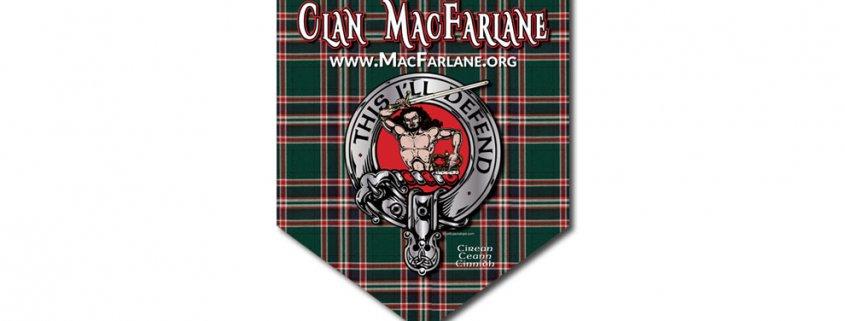 Clan MacFarlane Parade Banner